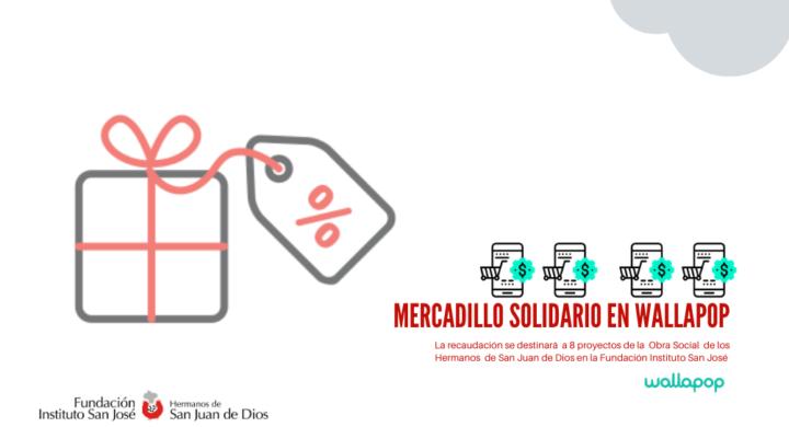 Mercadillo solidario en wallapop