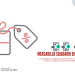 Mercadillo solidario en Wallapop del área de Solidaridad de la Fundación