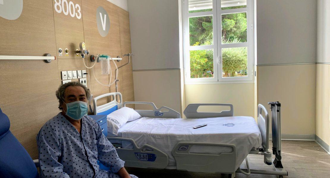 Nicolás, primer paciente en unidad San Diego