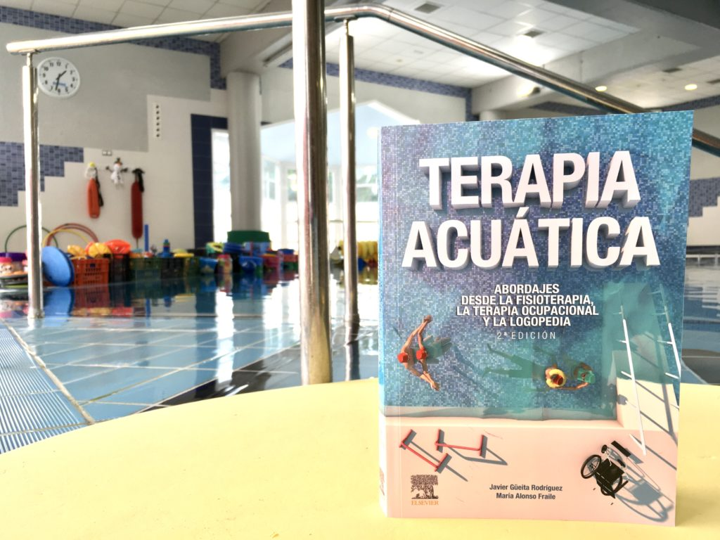 Portada libro segunda edición Terapia Acuática