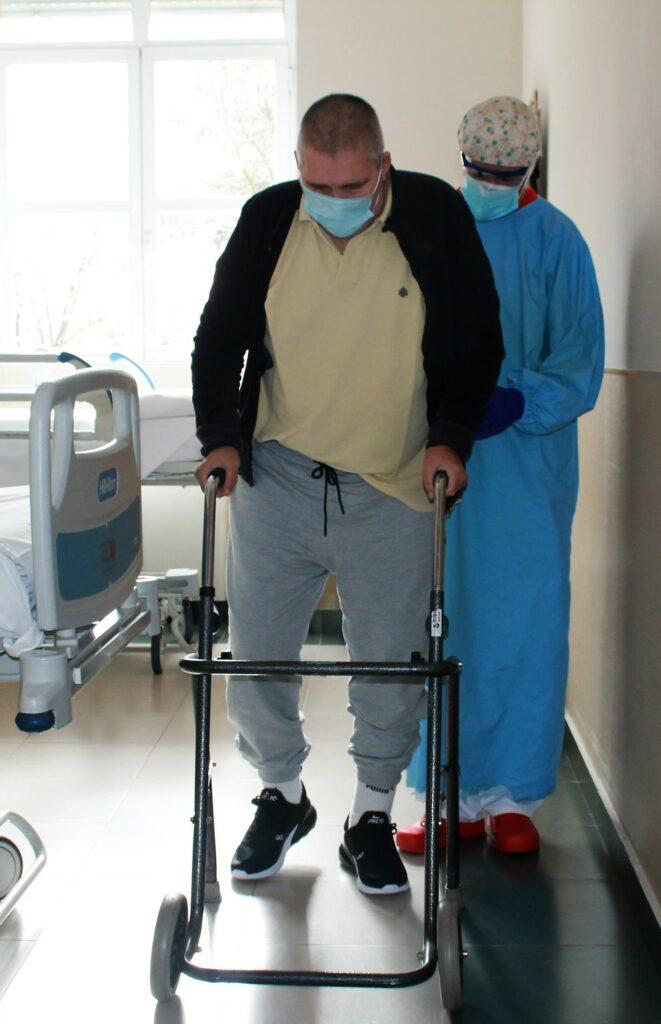 Fisioterapia pacientes daño cerebral