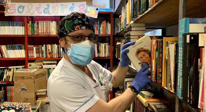 Ángel de la Biblioteca Solidaria