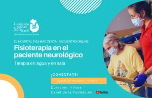 Próximo encuentro online 24 junio sobre fisioterapia en pacientes neurológicos